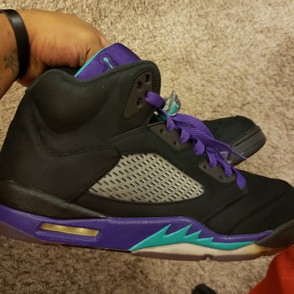 Jordan Shoes | Black Grape 5s | Poshmark